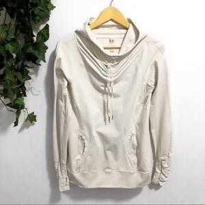 Lululemon White Sweater Jacket